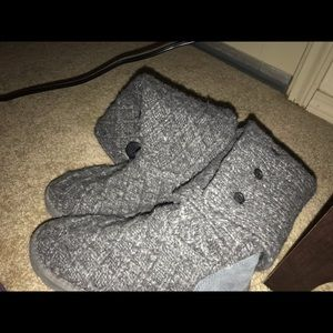 UGG Shoes - Women's ugg grey knit boots